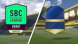 CAN WE GET A TOTS IN EPISODE 1?! FIFA 17 SBC LEAGUE #1!
