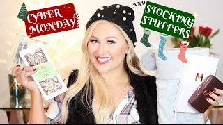 CYBER MONDAY AND STOCKING STUFFER GIFT GUIDE
