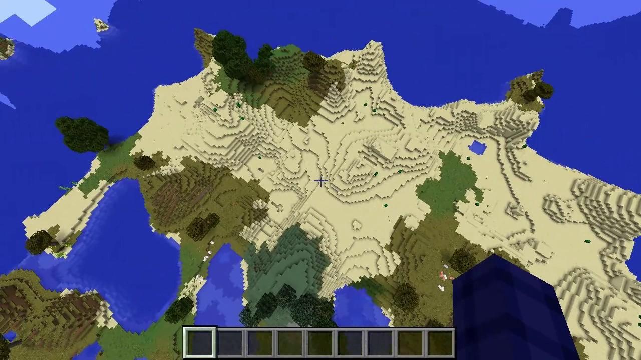 Minecraft Peninsular City #118: On Biome Size