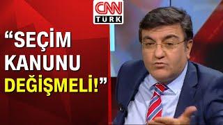 """Yaşar Hacısalihoğlu: """"Ortak aday kararı çıkarsa Kemal Kılıçdaroğlu aday olamaz!"""" - CNN Türk Masası"""