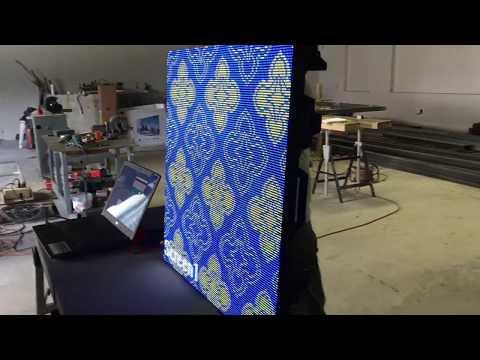 Fabrication d'écran géant LED P5 mm indoor DM France
