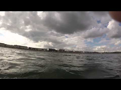Weymouth Beach underwater (GoPro camera test)