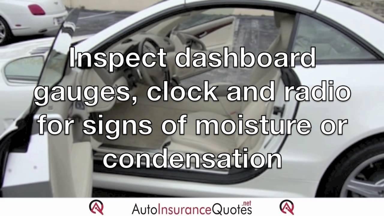 Avoid Buying Flood Damaged Cars.mov - YouTube