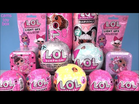 LOL Surprise DOLLS Hairgoals Bling Series PETS Under Wraps EYE Spy Series 1 4 5 3 LIL Sisters Unbox