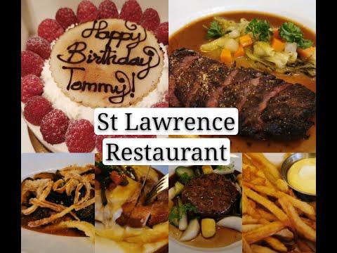 给老黄过生日@St Lawrence Restaurant,据说是2018年温哥华评分第一的餐厅 (法国菜)