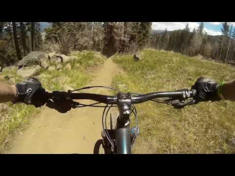 Angel Fire Bike Park -chair to bottom unedited; May 28, 2016