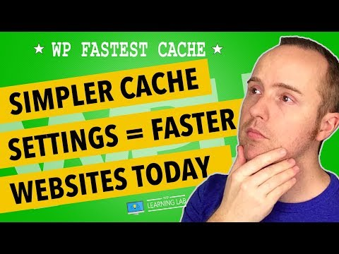WP Fastest Cache - Quick Overview & Settings For Faster WordPress Sites - 동영상