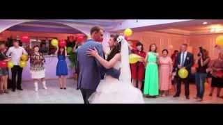 свадебный зажигательный видеоклип Виктора и Татьяны