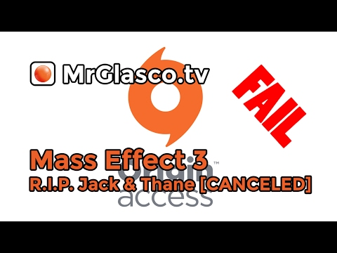 Mass Effect 3 (PC), R.I.P. Jack & Thane 💀💀 [CANCELED]