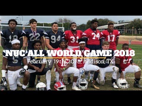 NUC All World Game 2018 Addison, Tx February 19th, 2018