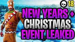 Fortnite LEAKED Christmas & New Year's Event Details: Rewards + Challenges + LTM Gamemodes