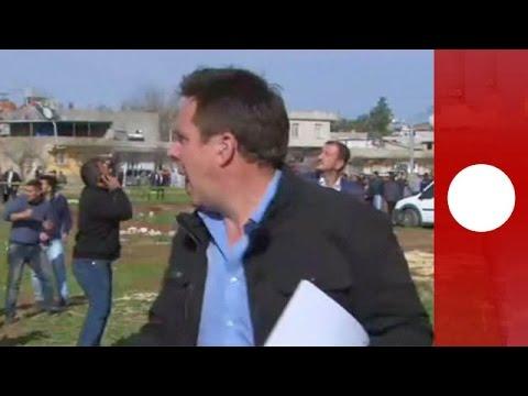 Gaziantep'in Kilis Ilçesindeki Patlama Anı