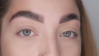 Eyebrow Lift aka Brow Lamination Step by Step - Thuya NYC.