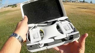 Sunlytech (Sandy Air) Alpha Cam GPS 4K Selfie FPV Camera Drone Flight Test Review