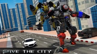 Transformer Robot Police Chase (By Great Games Studio) Android Gameplay HD