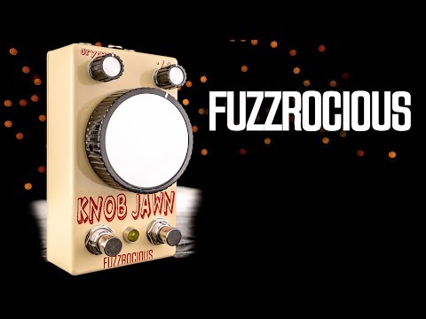 Fuzzrocious Pedals Knob Jawn Analog /& Digital Octave Guitar Effects Pedal