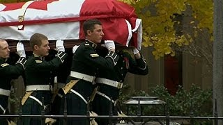 Thousands Gather for Canadian Soldier Funeral