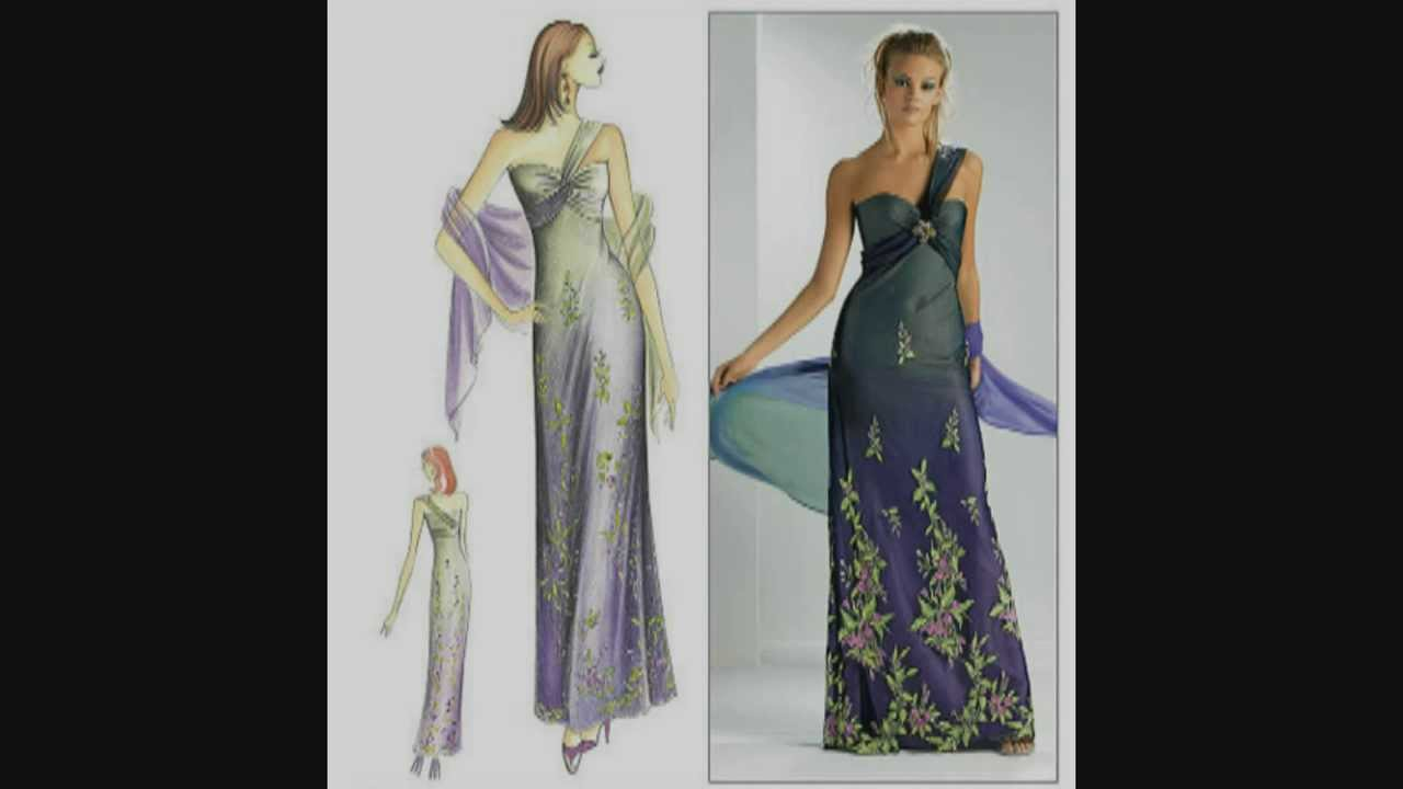 Marfy Gowns And Dresses Part 2 Youtube