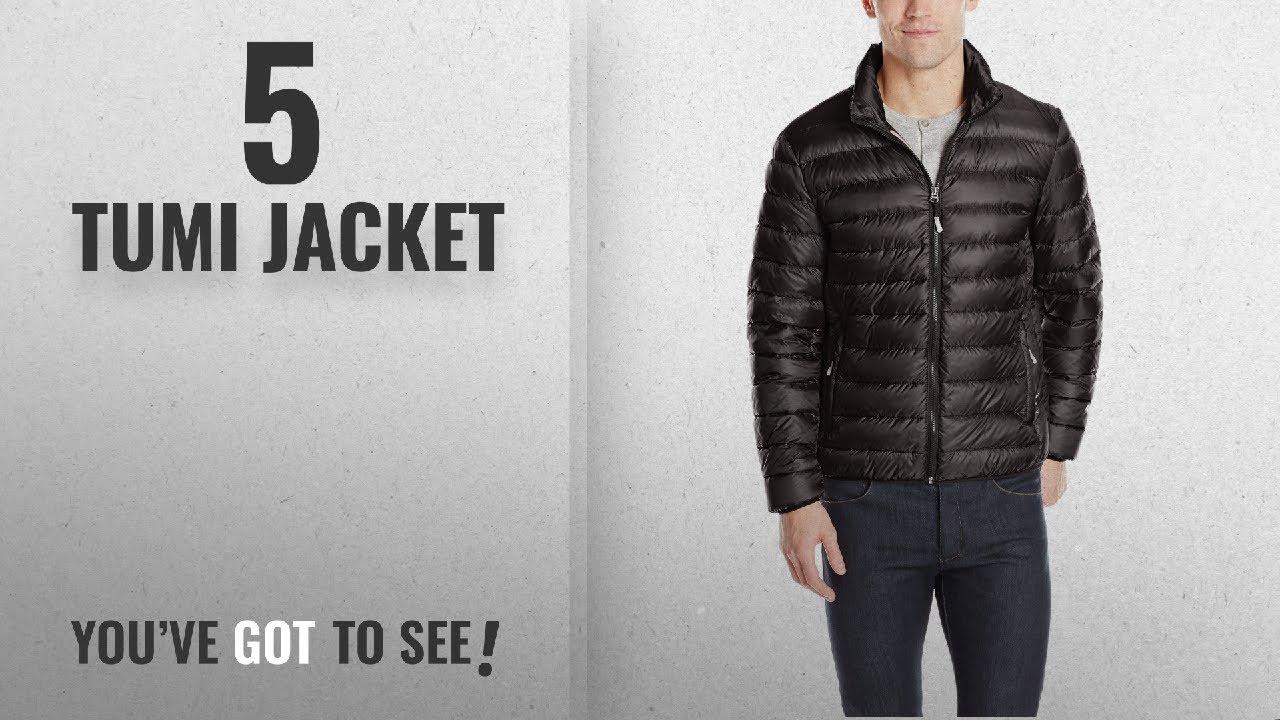 63262832698 Top 10 Tumi Jacket [2018]: Tumi Men's Pax On-The-Go Packable  Jacket,Black,X-Large