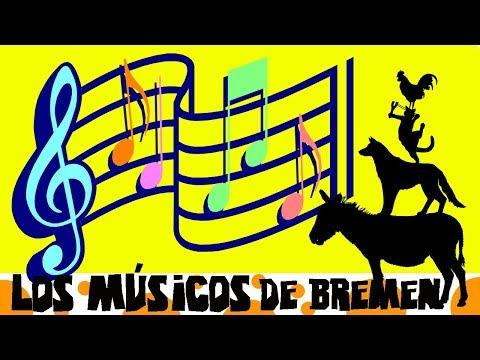 Cuento infantil en español | LOS MUSICOS DE BREMEN| Hermanos Grimm