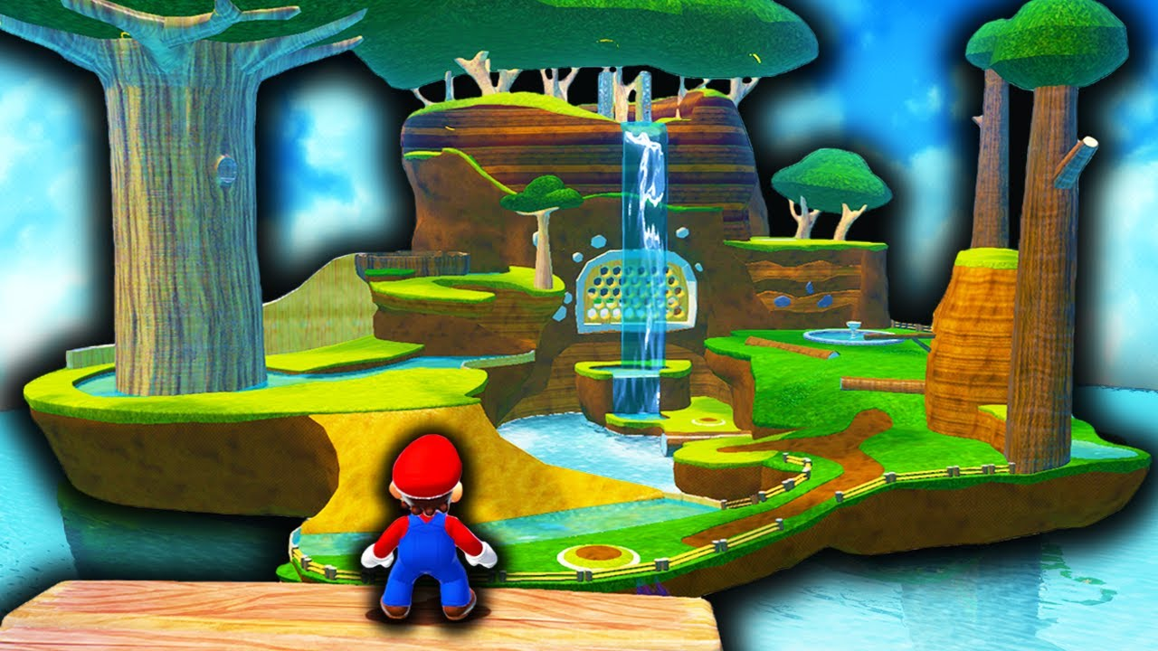 Super Mario Galaxy REMASTERED in Bowser's Fury AND Super Mario 3D World...