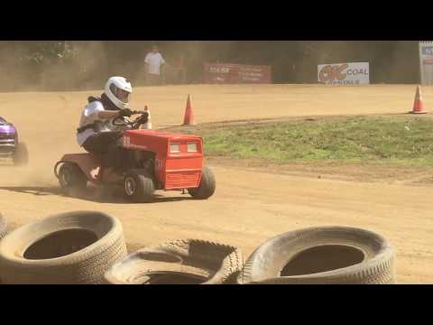 Lawn Mower Racing - Mod X Feature at Limestone Valley Speedway