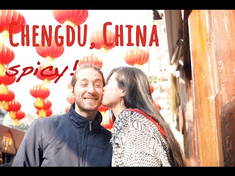 CHINA - first impressions from CHENGDU - part 1
