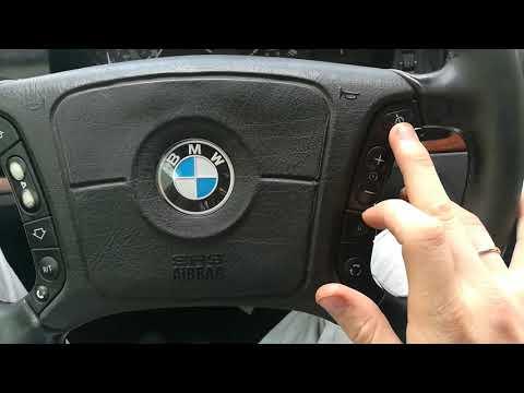 БМВ е39 функционал всех кнопок!