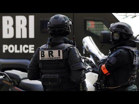 شاهد الشرطة الجزائرية فرقة البحث والتدخل BRI-امن ولاية تلمسان -Algerian Special Forces