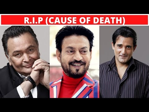 10 Famous Bollywood Actors Who Died Recently - Irrfan Khan, Rishi Kapoor - 2020