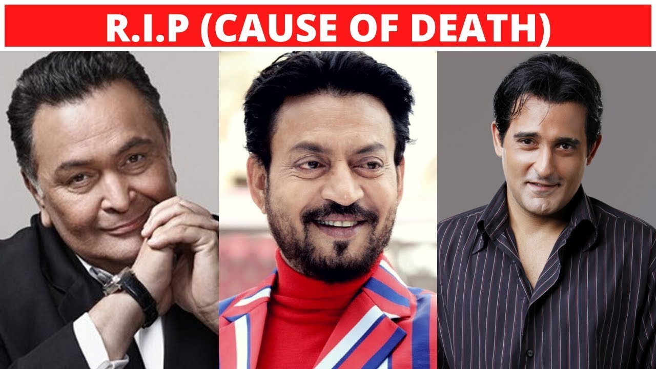 Download 10 Famous Bollywood Actors Who Died Recently - Irrfan Khan, Rishi Kapoor - 2020