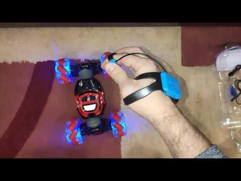 Управление жестами руки машинкой трансформер RC Stunt Car