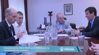 Convenio entre PROCREAR y LO TENGO para la construcción de viviendas