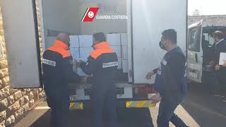 Maxi operazione Guardia Costiera: sequestrate 40 tonnellate di pesce e sanzioni per 124mila euro