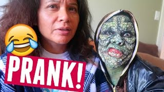 I SCARED MY MOM IN THIS MAKEUP... And she reacts like this