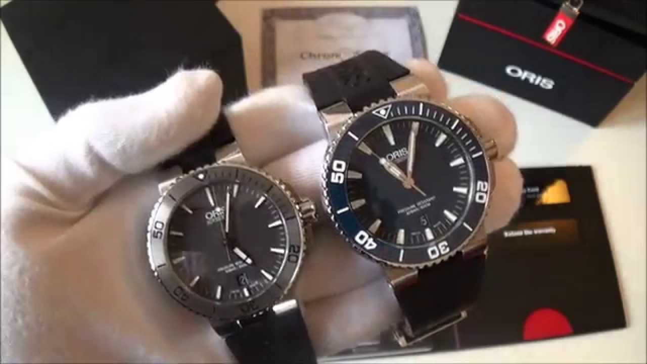 Oris aquis date 40mm automatic diver grey dial watch review comparison 01733767641530742134 for Watches 40mm
