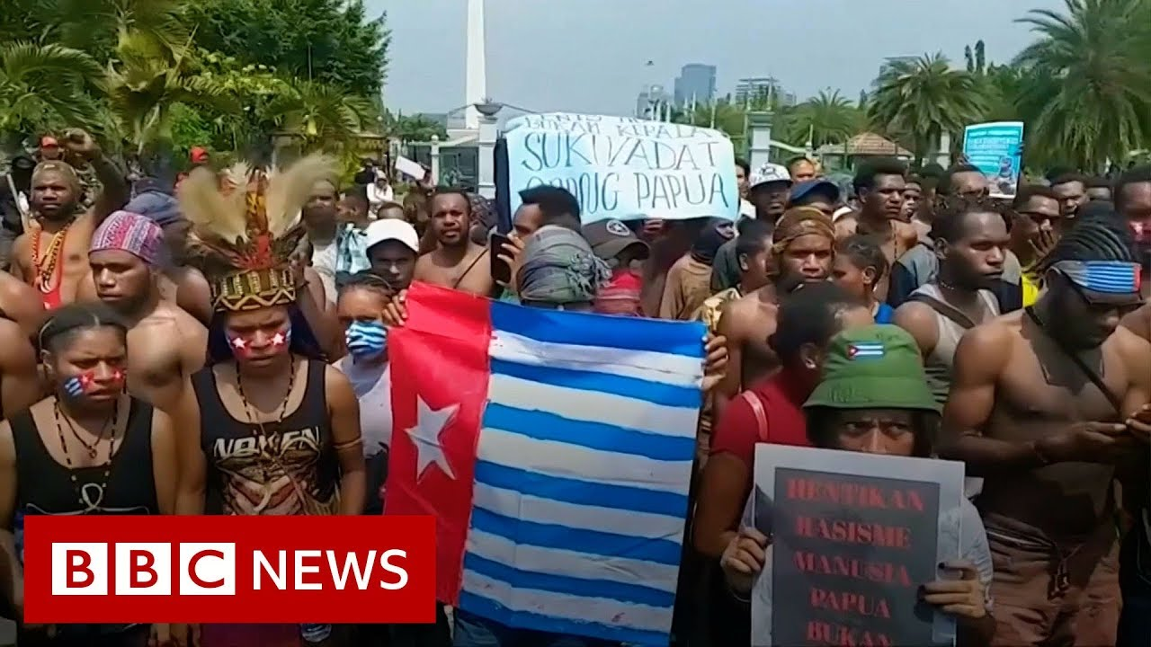 BBC News:Indonesia cuts off internet to Papua following protests - BBC News