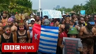 Indonesia cuts off internet to Papua following protests - BBC News