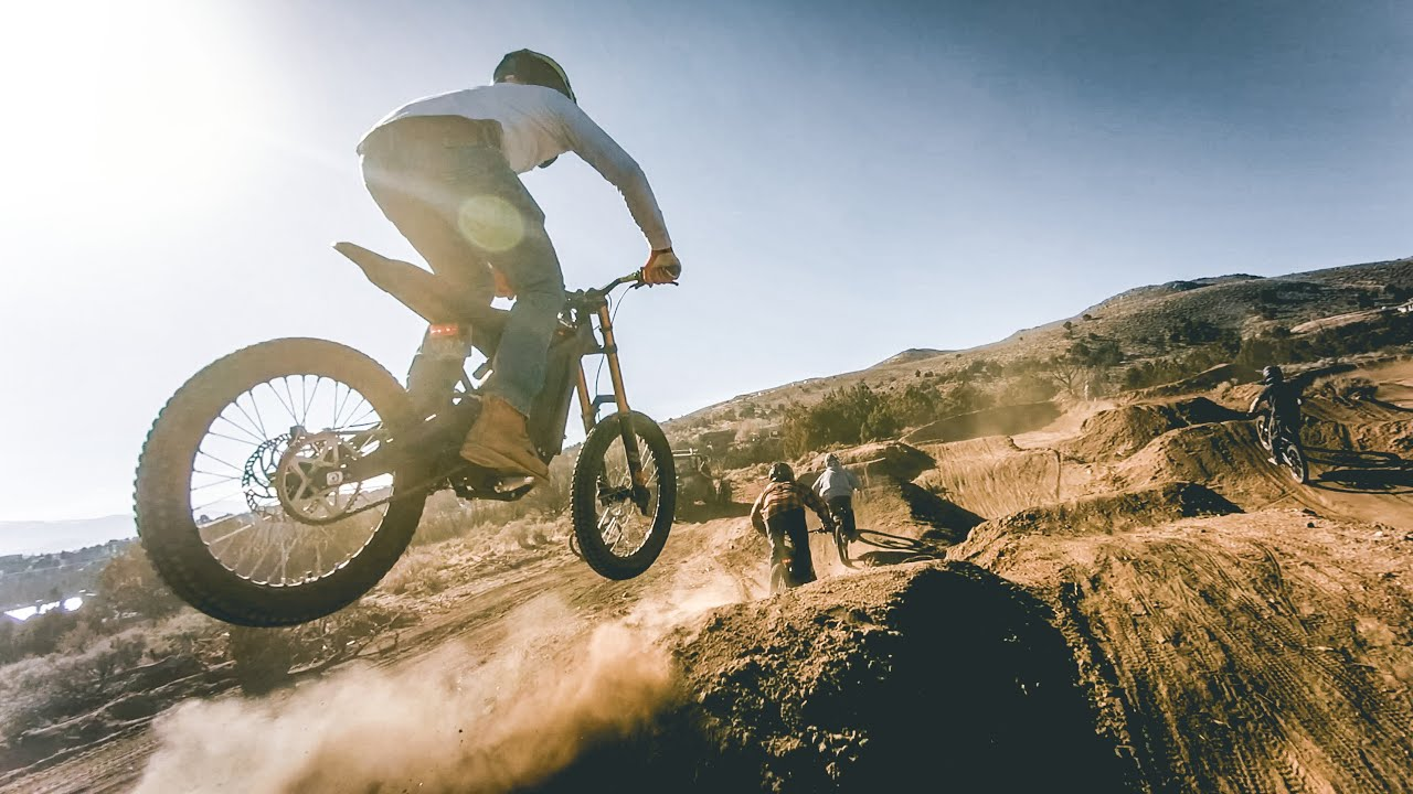 Electric Dirt Bikes are EPIC - Sur Ron Shred
