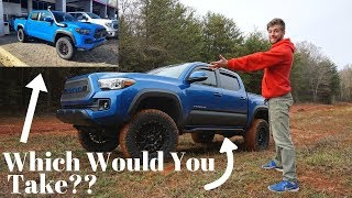 I TOTALLY Transformed My Tacoma! CHEAPER THAN A TRD PRO??