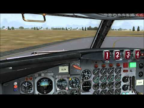 FSX Captain Sim 707-369C Das Air Cargo