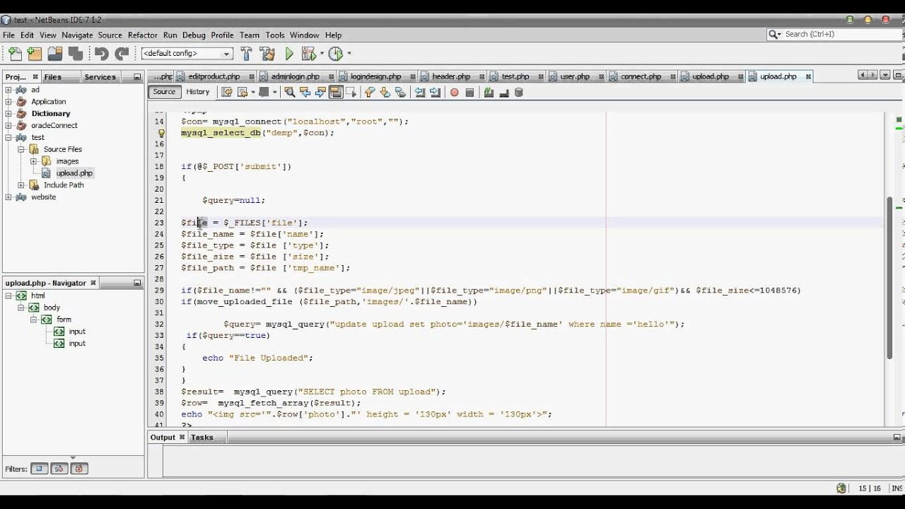 How To Upload And Retrieve Images Or Files Into Mysql Using Php