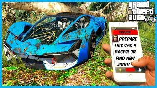 I FOUND THIS LAMBO WRECK IN THE FOREST OF GTA 5! (GTA 5 Mods)