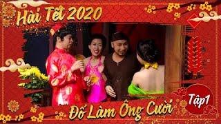 Hài tết 2020-Đố Làm Ông Cười-Quốc Anh-Quang Tèo-Mai Thỏ-tập 1 hài Tết Canh Tý 2020-cười rụng rốn