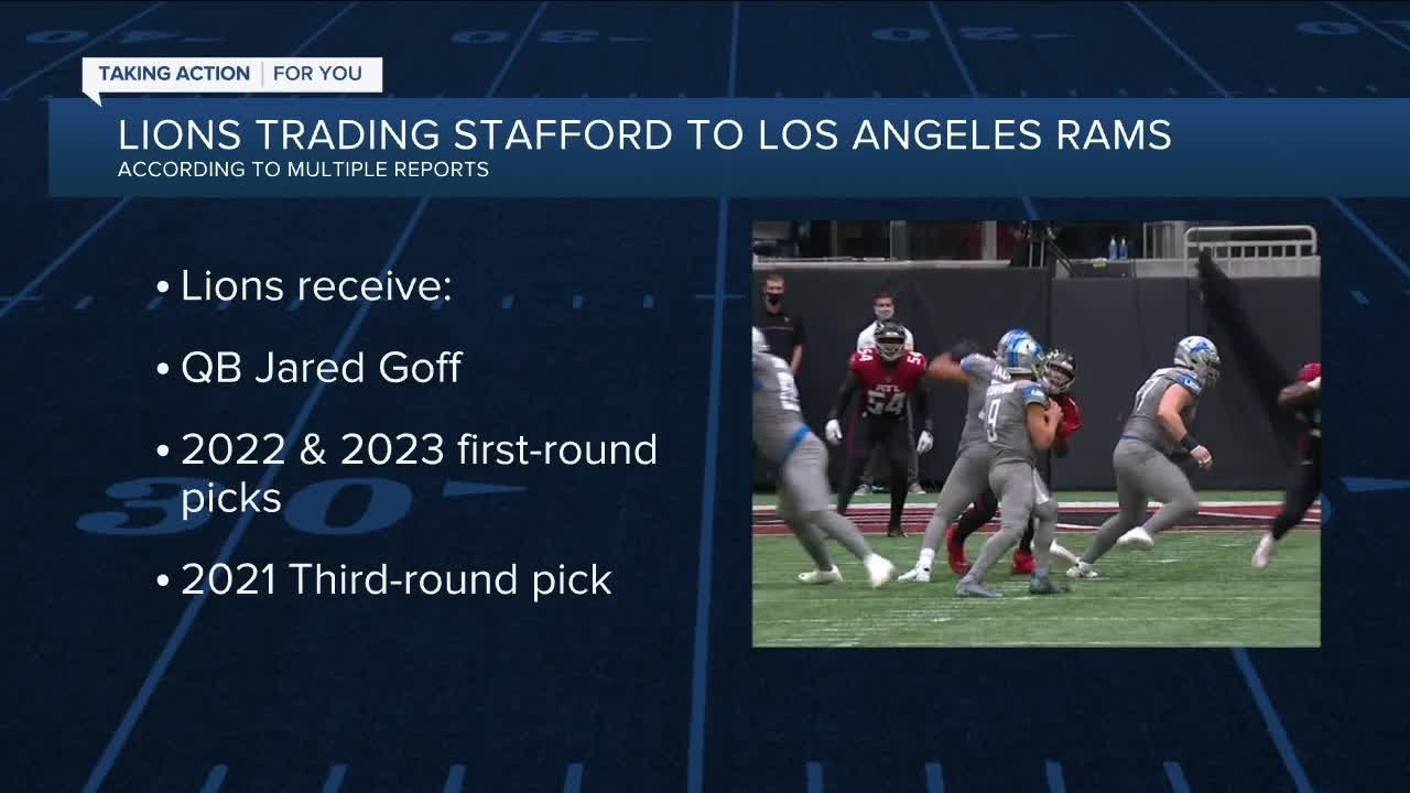 Detroit Lions dealing Matthew Stafford to Los Angeles Rams for ...