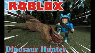 DESTROY the TYRANNOSAURUS to SAVE the TWO MEN HE PITY [ROBLOX: Dinosaur Hunter:] NAMLKUN