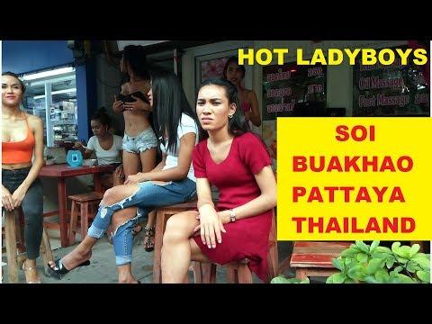 SOI BUAKHAO MONDAY 12th FEBRUARY 2018 SOI BUAKHAO PATTAYA THAILAND SOI 11