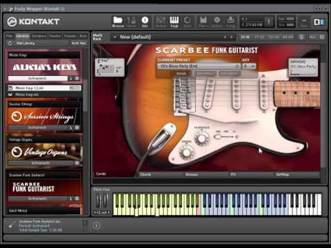 scarbee funk guitarist kontakt the best electric guitar chords youtube. Black Bedroom Furniture Sets. Home Design Ideas