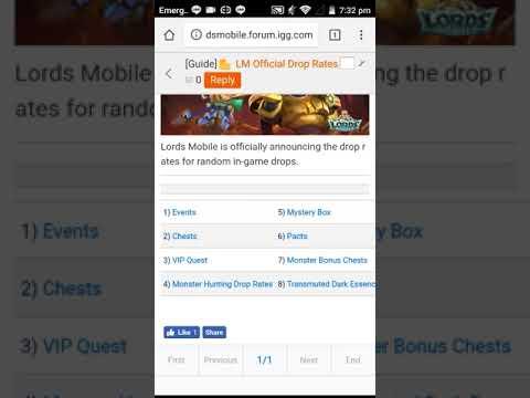 lords mobile monster jagen