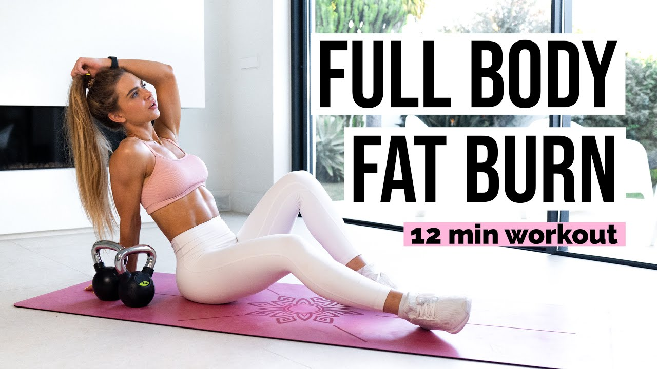 Intense Full Body FAT BURN Workout, No Equipment Variations Included   24 Day SHRED CHALLENGE